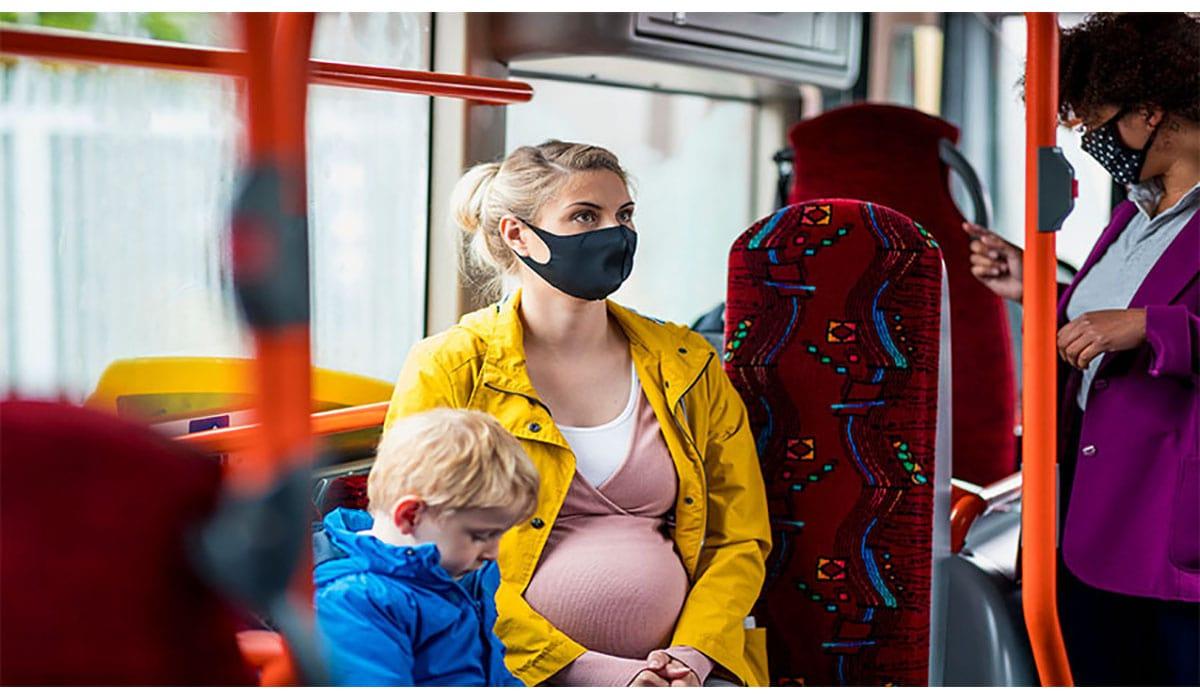 Pregnant Woman Bus Gatewayextension