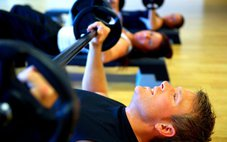 Oxygen debt experienced by exercise group