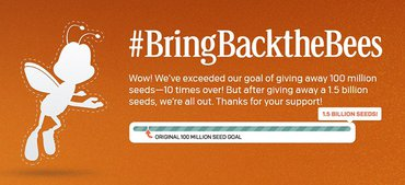 General Mills Offers 100 Million Free Wildflower Seeds to #BringBacktheBees