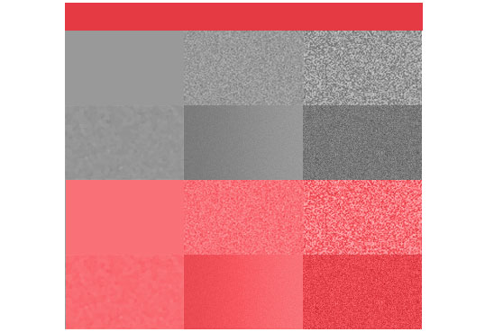 How texture affects colour