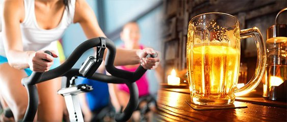 exercise and alcohol