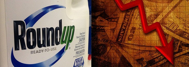 Monsanto's Roundup Sales Plummeting, Driving Overall 12% Sales Decrease in Just 3 Months