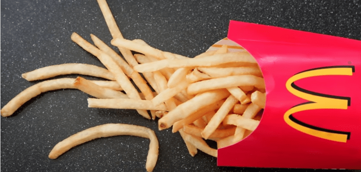The 19 Ingredients in McDonald's Fries – Including a Form of Silicone Found in Silly Putty