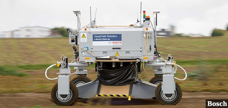 Weed-Killing Robot Developed: No Herbicides Needed
