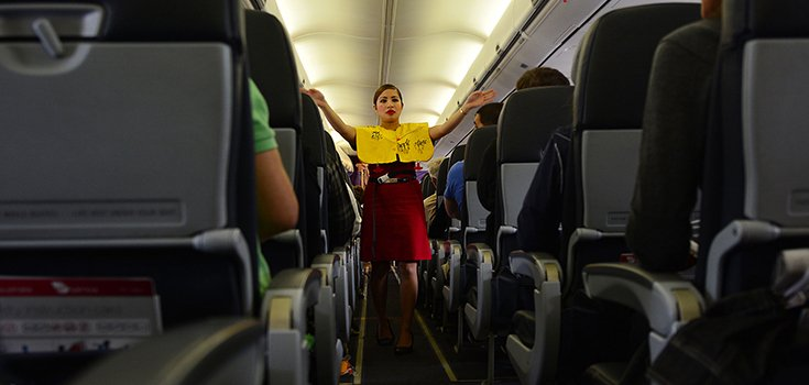 Study: Flight Attendants Have Higher Levels of Different Types of Cancer