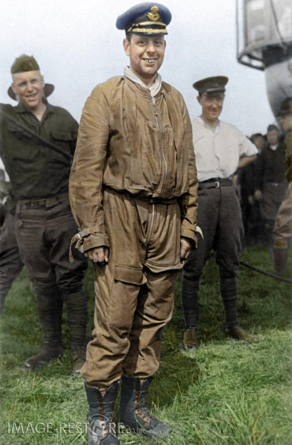 Major-G-H-Scott-A.F - colourized