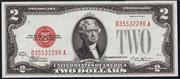 1928E $2 Legal Tender Red Seal