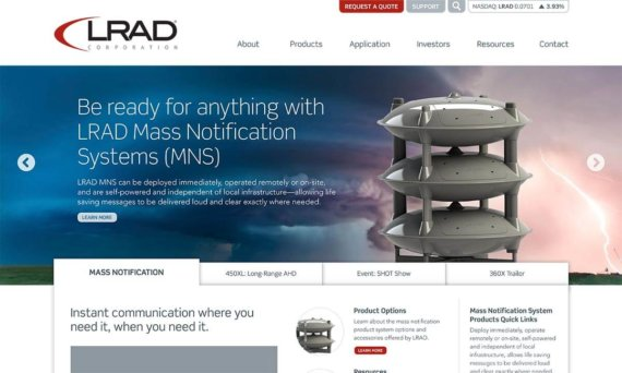Read more about LRAD
