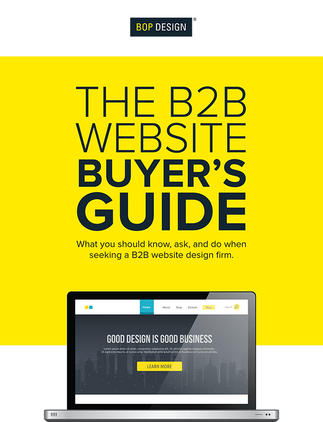 B2B Website Buyer's Guide