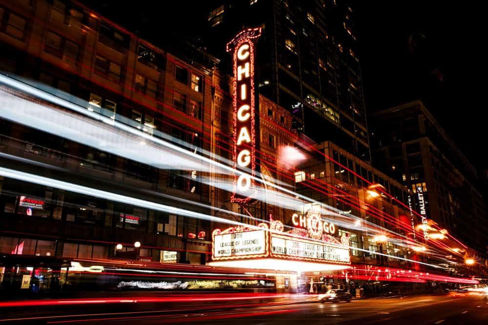 Neon Photography long exposure