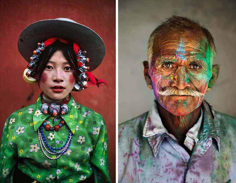 portrait photographers - Steve McCurry