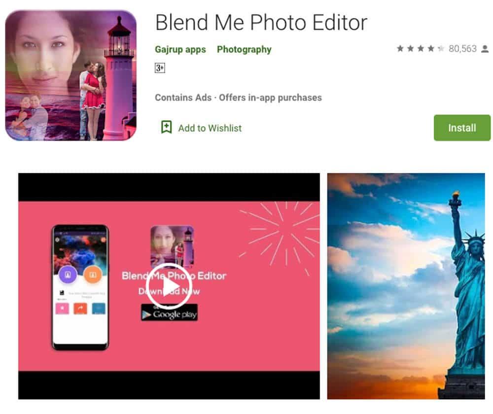 Blend Me Photo Editor