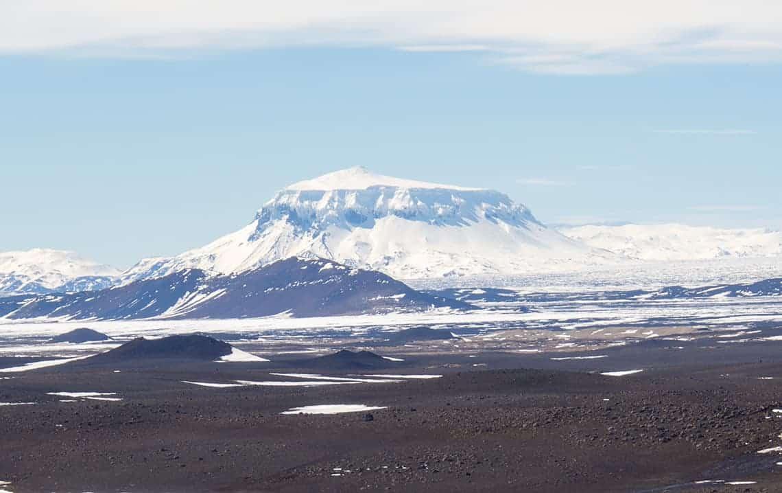 Vulkanen in IJsland