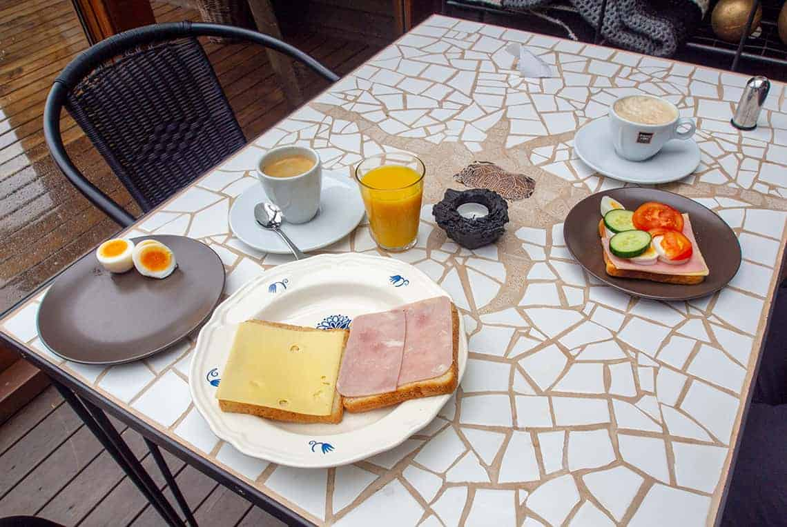 Ontbijt in IJsland