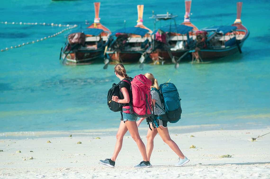 Met koffer of backpack op reis?