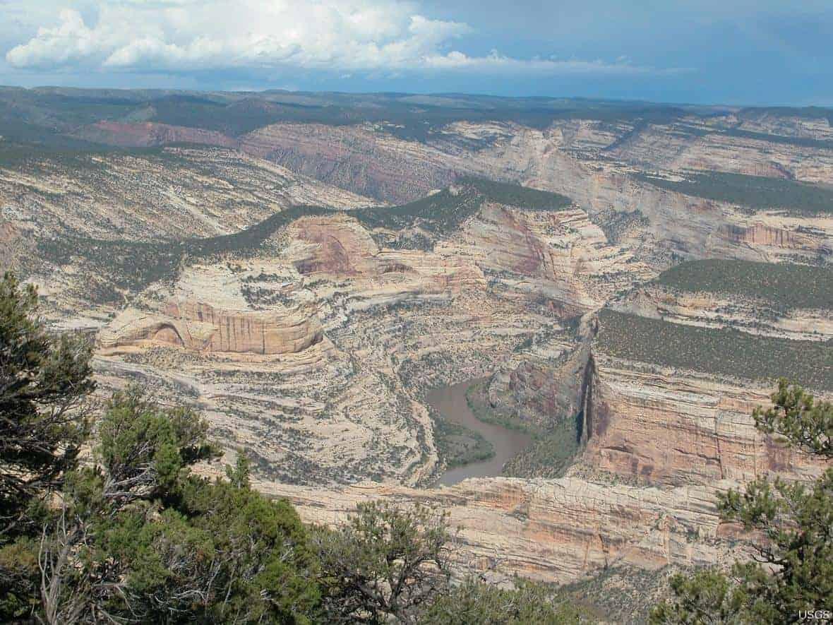 Colorado Plateau. Photo: USGS. Public domain.
