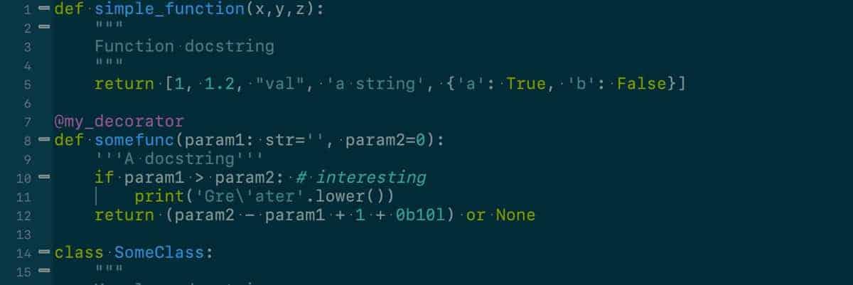Python code on a screen.
