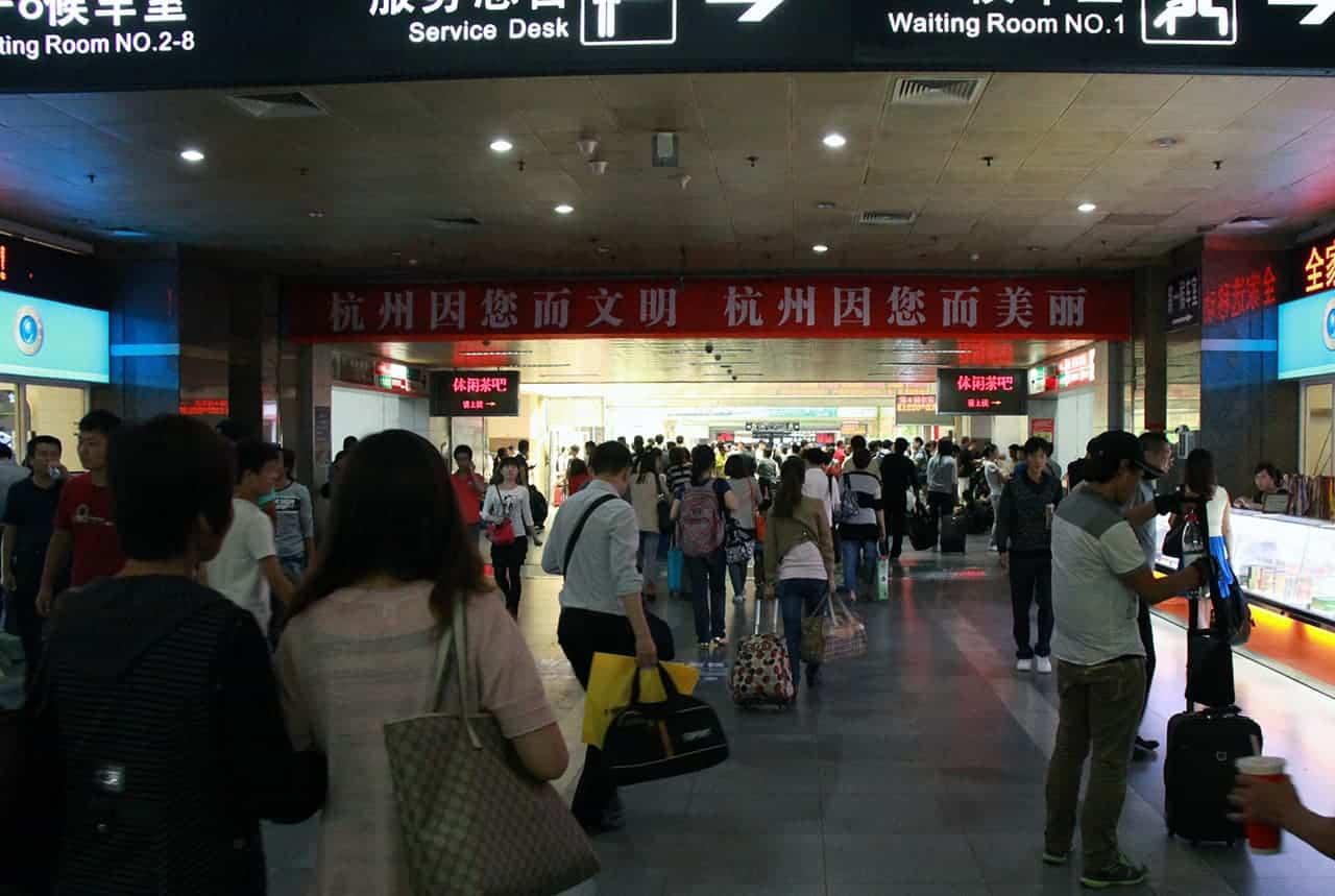 Hangzhou treinstation