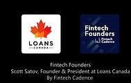 Loans Canada CEO On The Fintech Cadence  Podcast