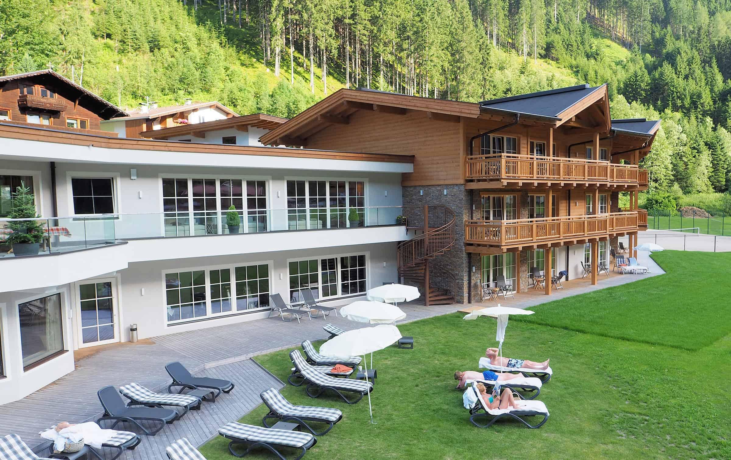 Luxe hotel in Stubai