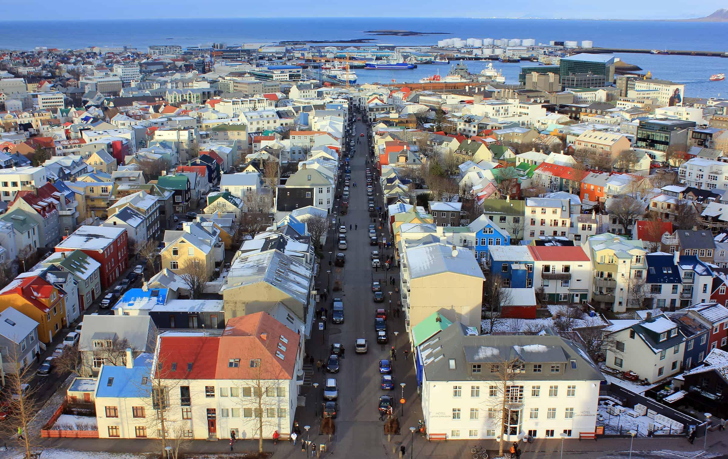 Het mooie Reykjavik
