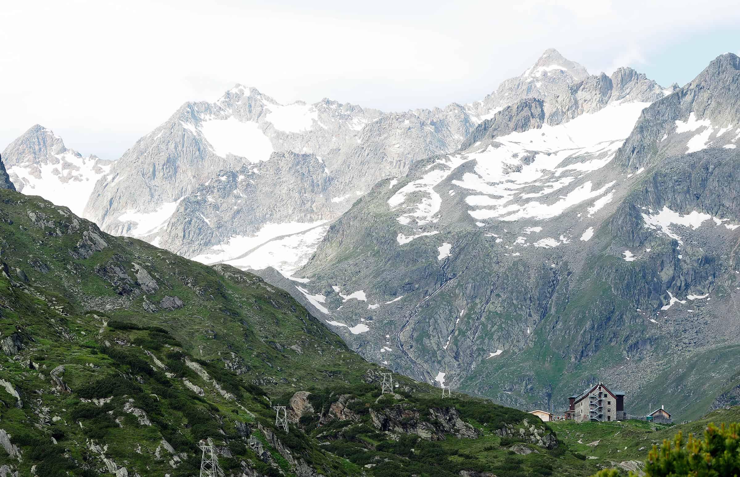 Uitzicht op de Rinnenspitze