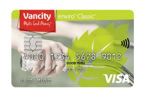 Vancity enviro Secured Visa Card