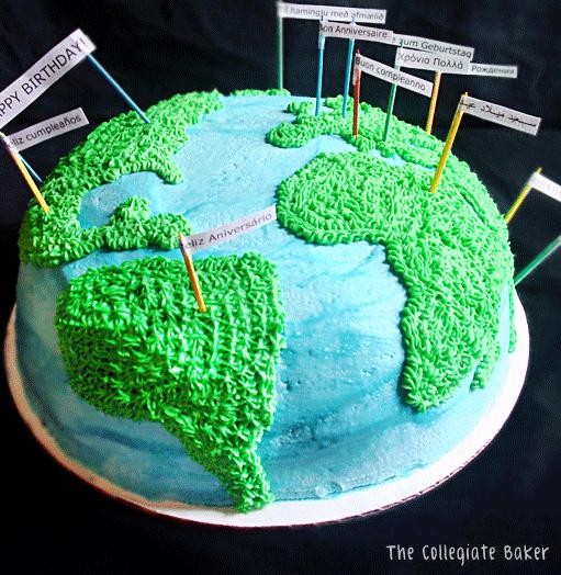 Earth cake