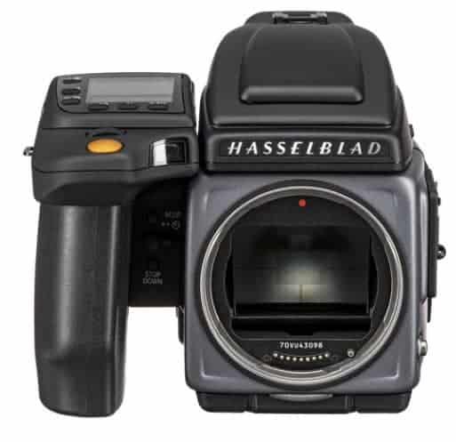 most expensive camera: medium format Hasselblad H6D-400C MS