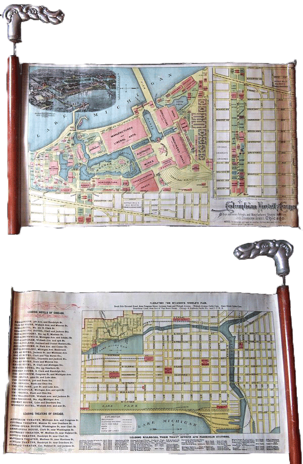 The first cane map was created in 1893.