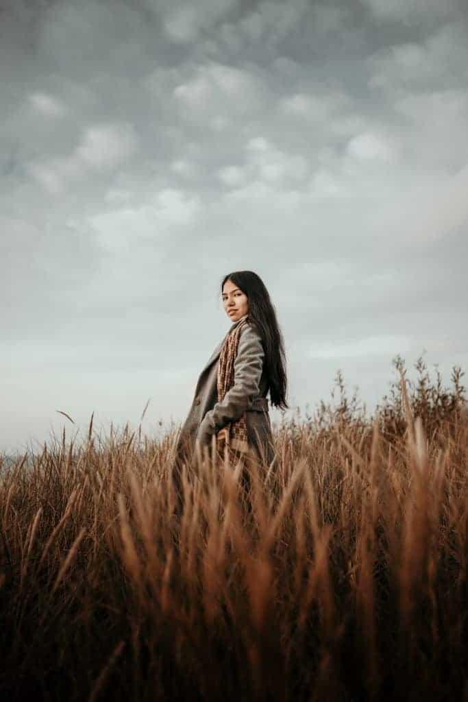 Overcast portrait