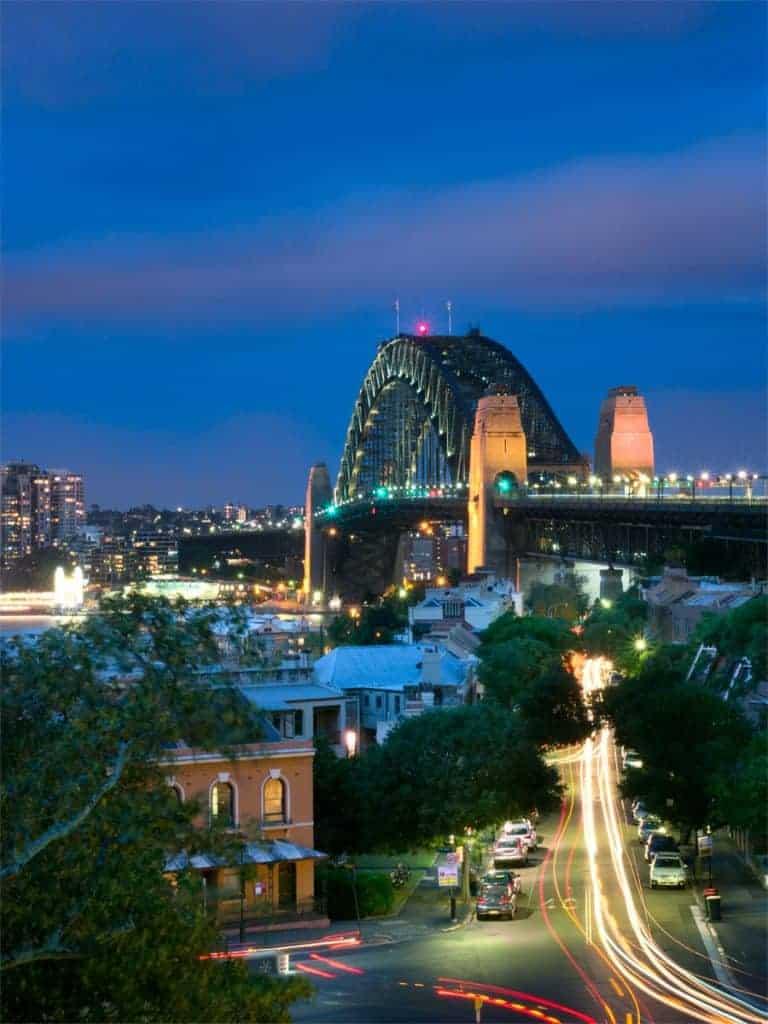 Harbour Bridge Olympus Live Composite