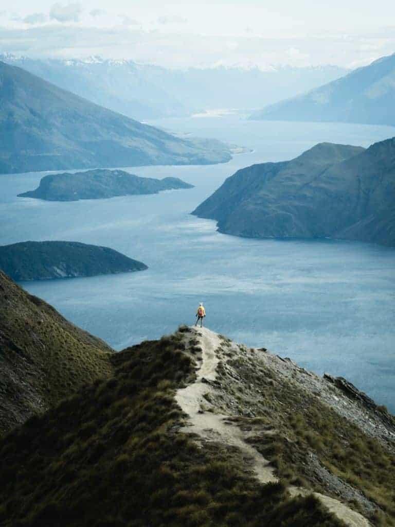 New Zealand landscape Rule of scale