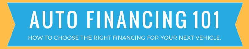 Auto Financing 101