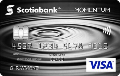 Scotia Momentum® No-Fee Visa Card