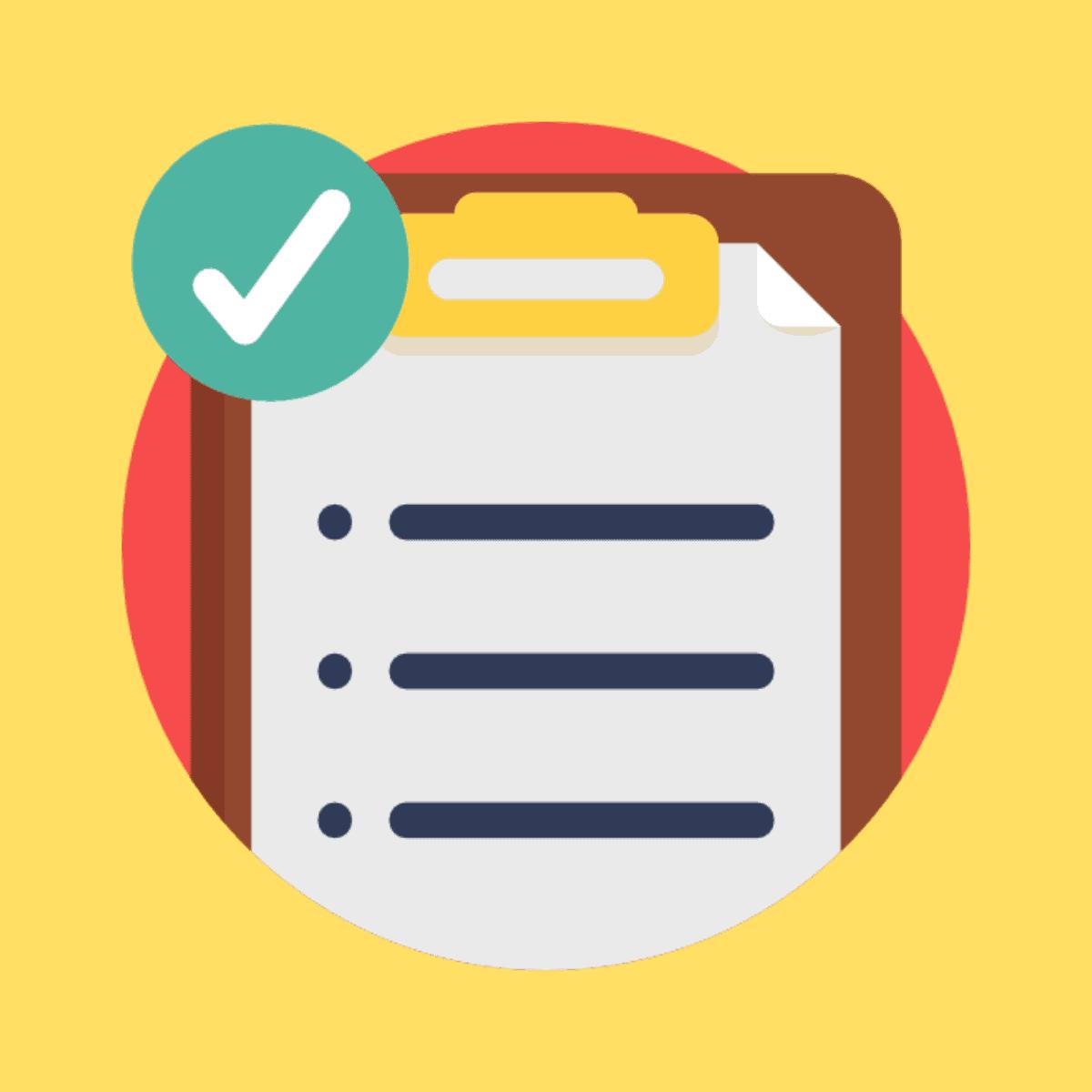 Mortgage Documents Checklist
