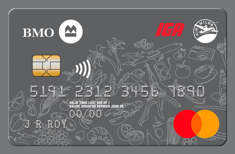 BMO IGA AIR MILES® MasterCard®