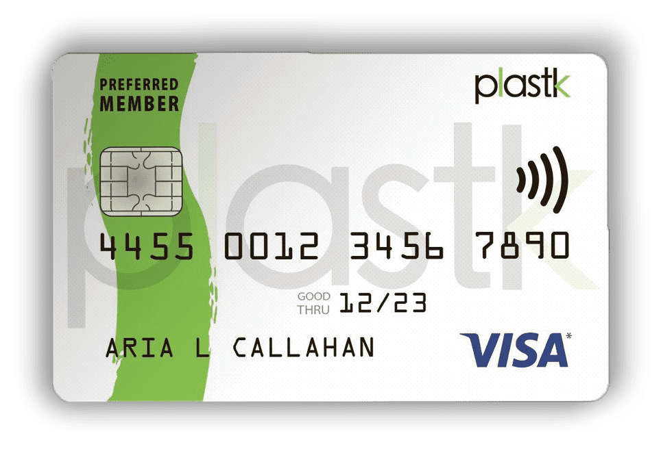 Plastk Secured Credit Card