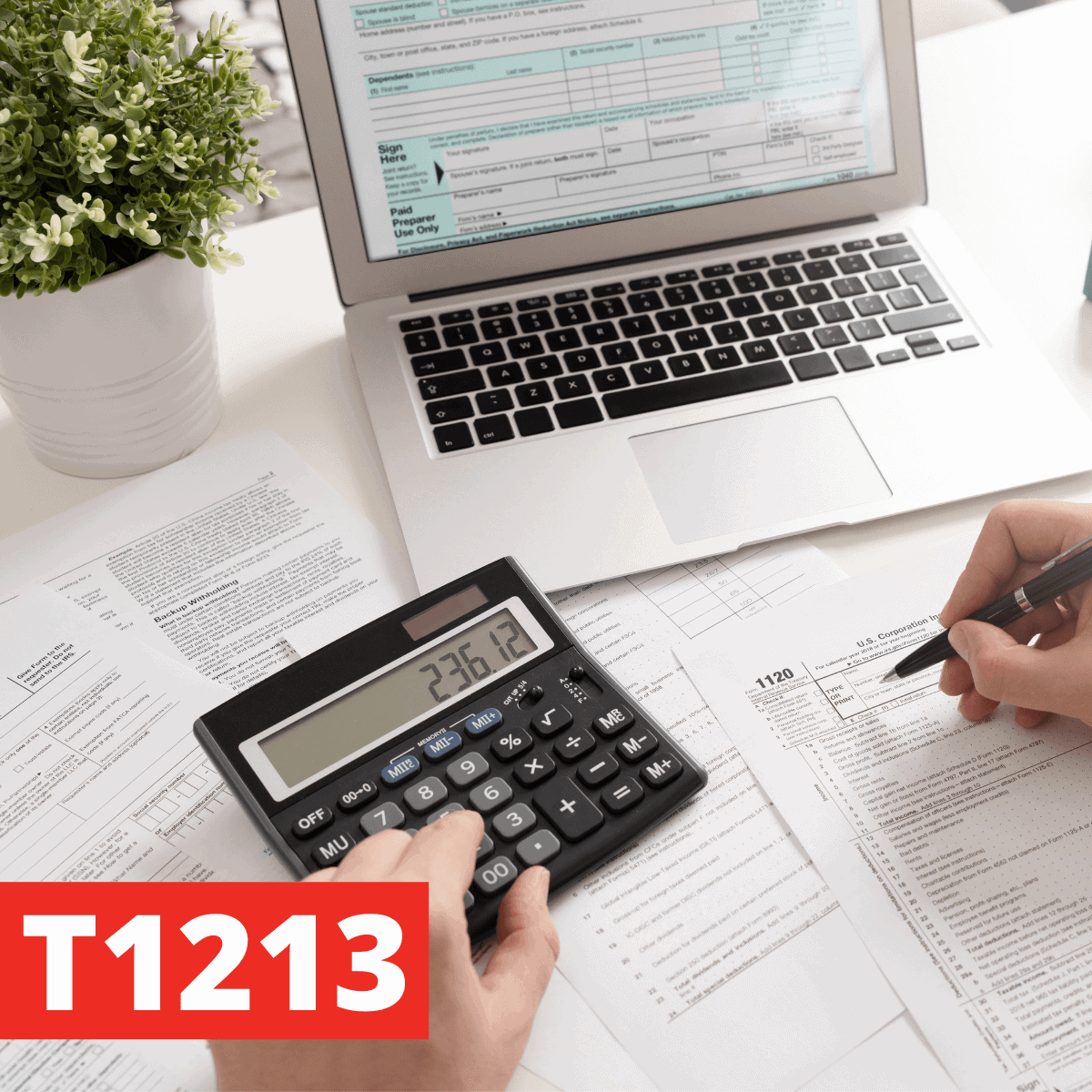 The T1213 Form Explained