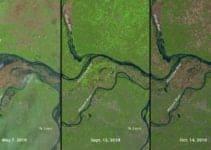 Monitoring Crop Production Via Satellite