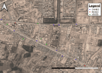 Countering IEDs by using GIS