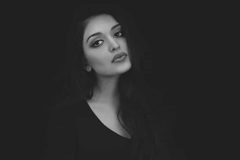black and white portraits