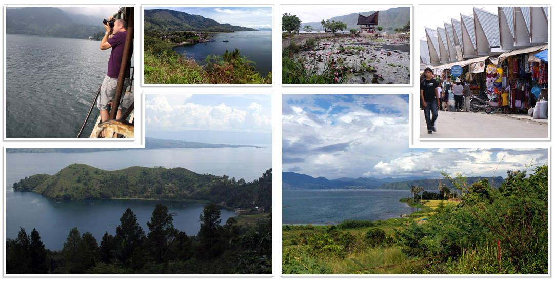 Lake Toba en Samosir Eiland