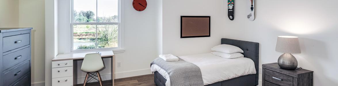 Teen boys bedroom at Muir Wood