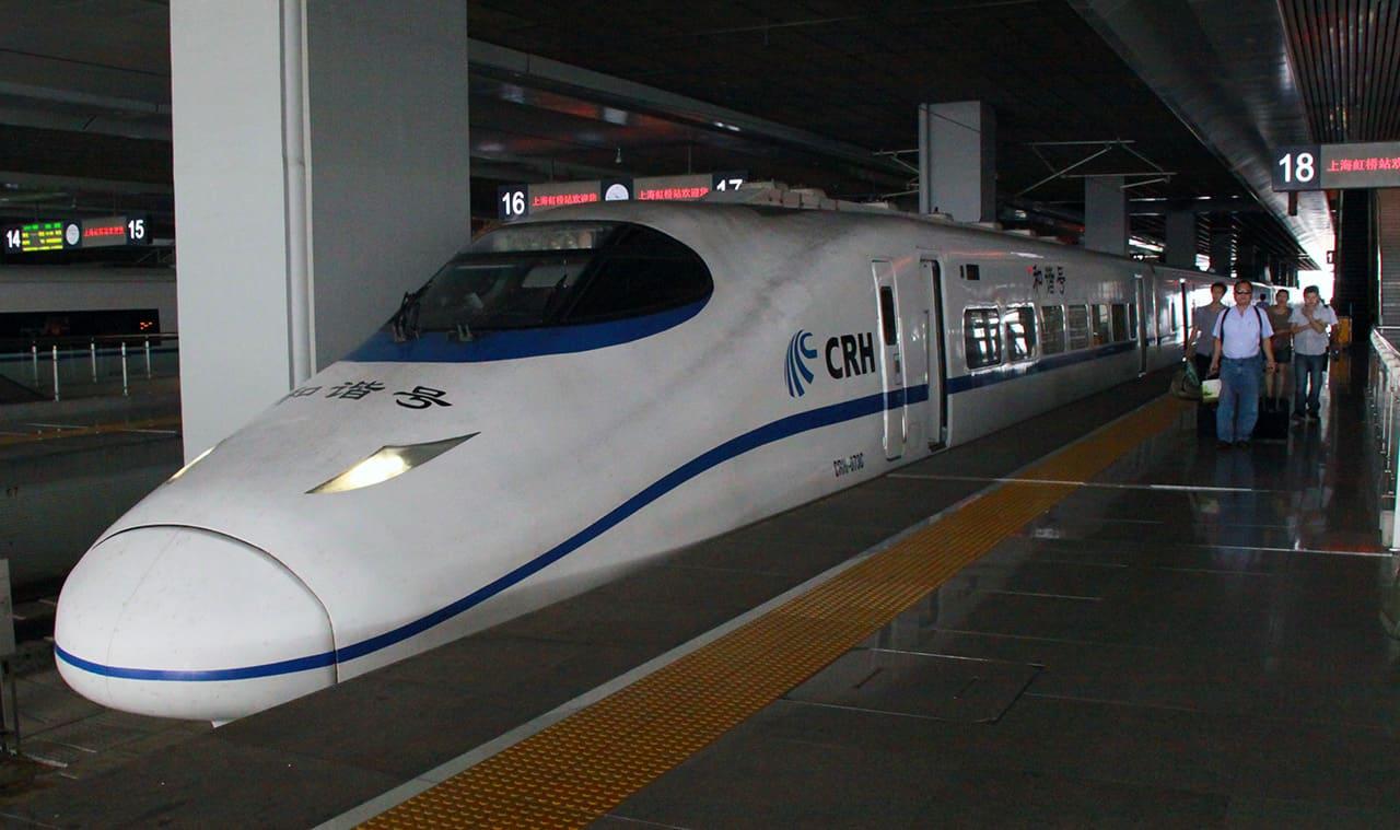 Met de trein door China