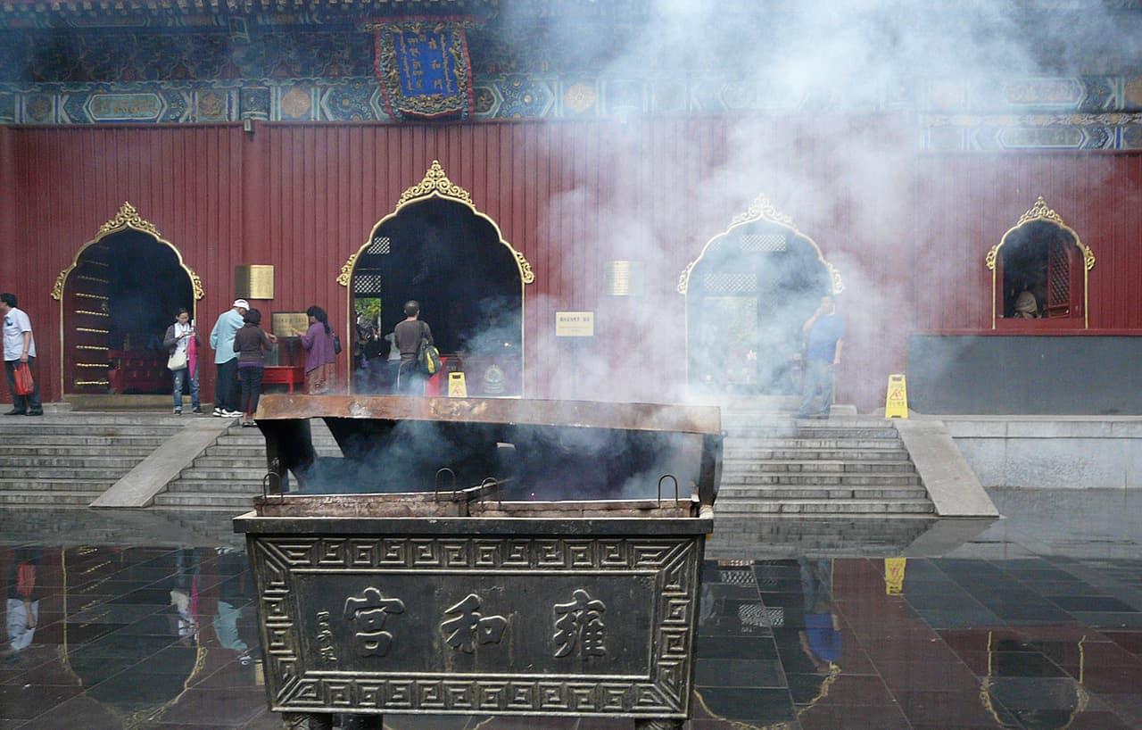 Lama Tempel in Beijing