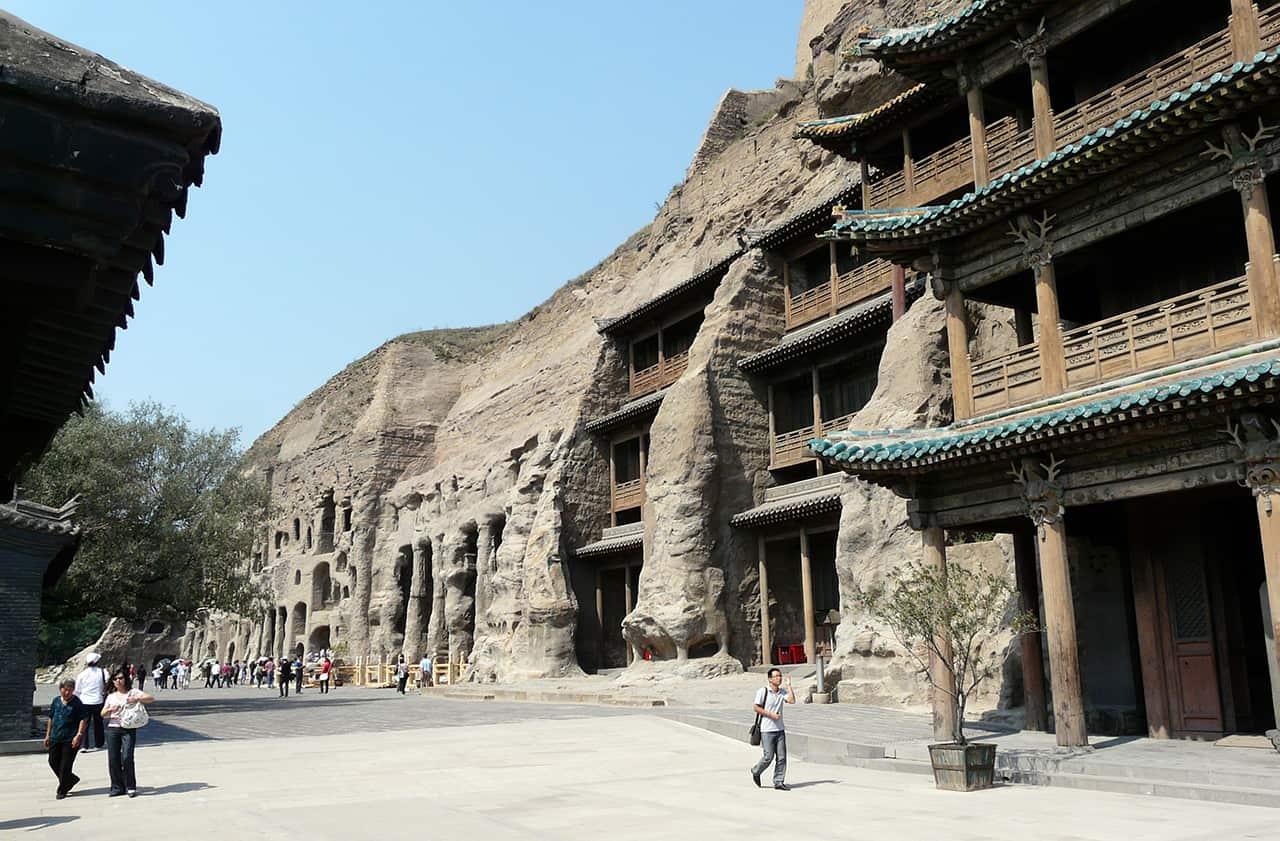 Grotten van Yungang bij Datong