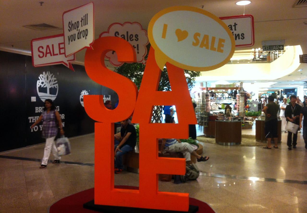 Mega Sale in Maleisie