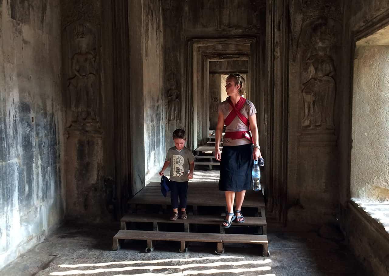 Met de kids in Vietnam en Cambodja