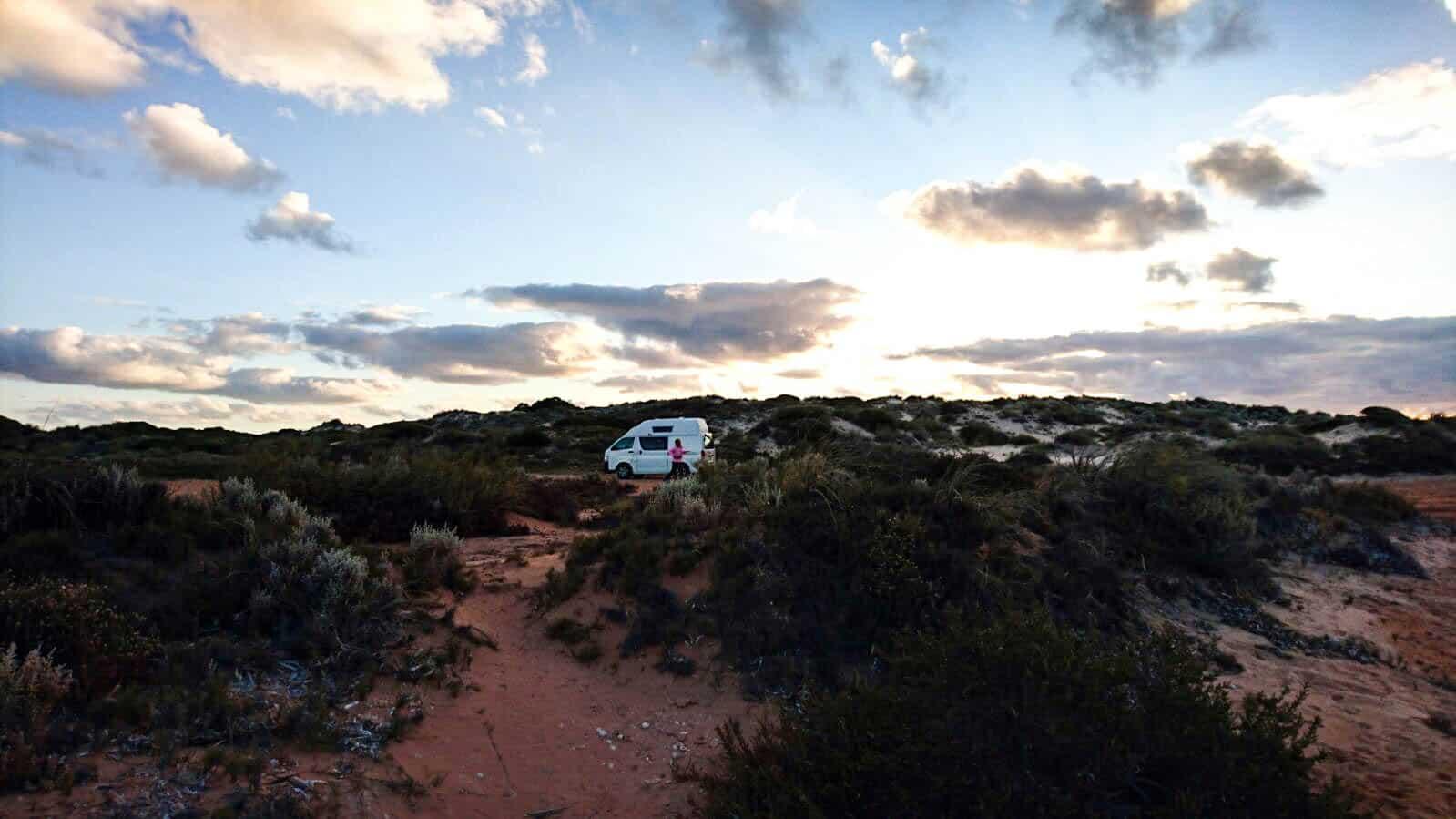 Wildkamperen in Australie